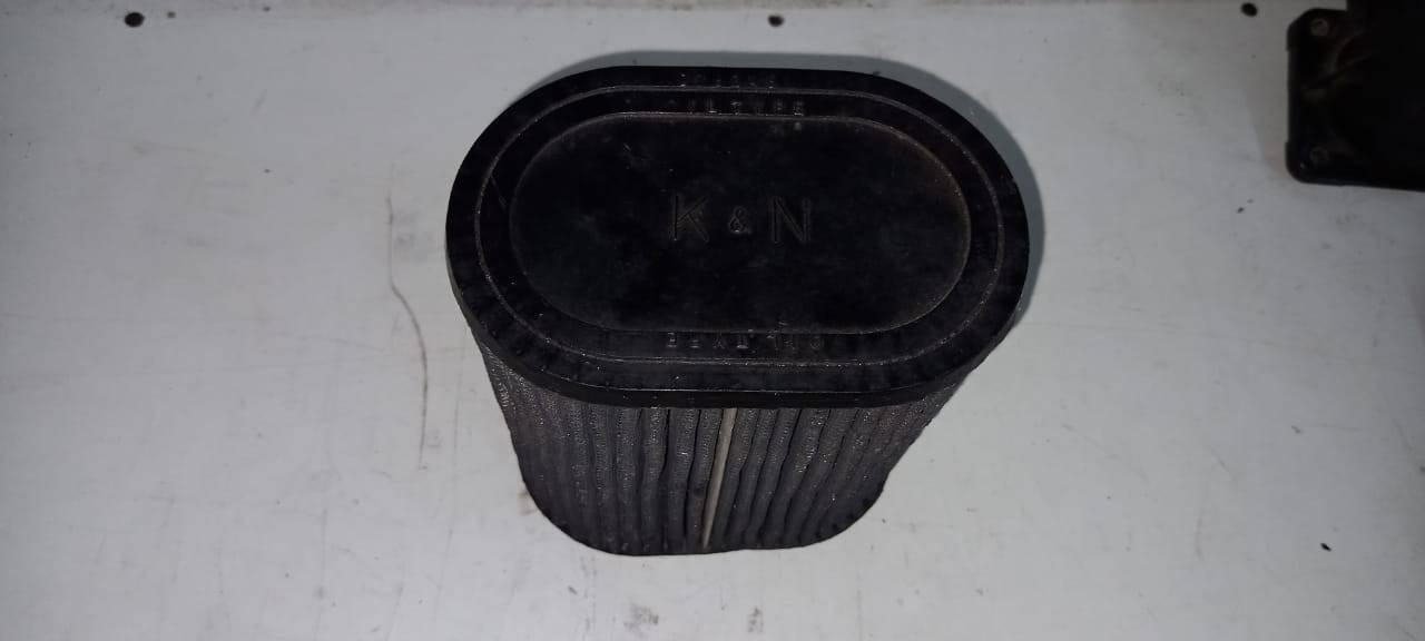 Filtro de ar K&N cônico universal Mitsubishi Eclipse GST 95. - Kaled Auto Parts