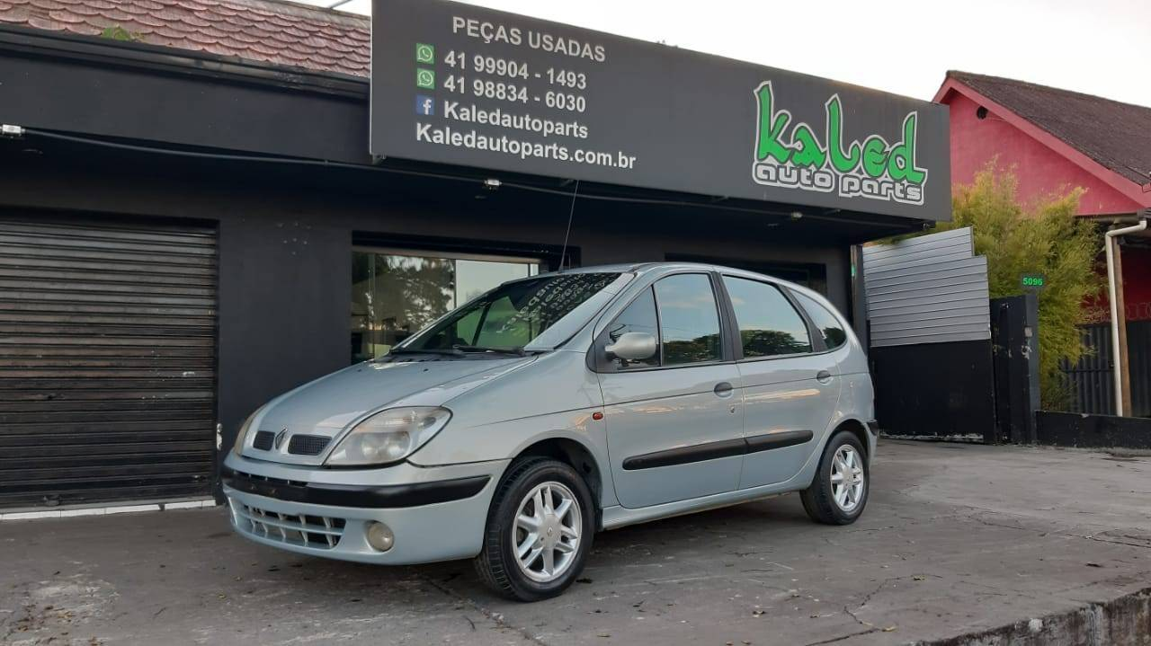 Sucata Renault Scenic RXE 2.0 16v 2001 venda de peças - Kaled Auto Parts