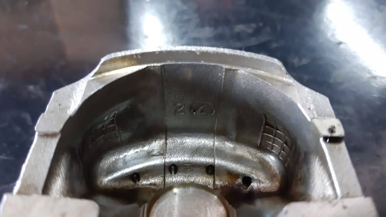 Jogo de pistões originais Subaru Impreza WRX Forester XT turbo 2.5 EJ255 - Kaled Auto Parts