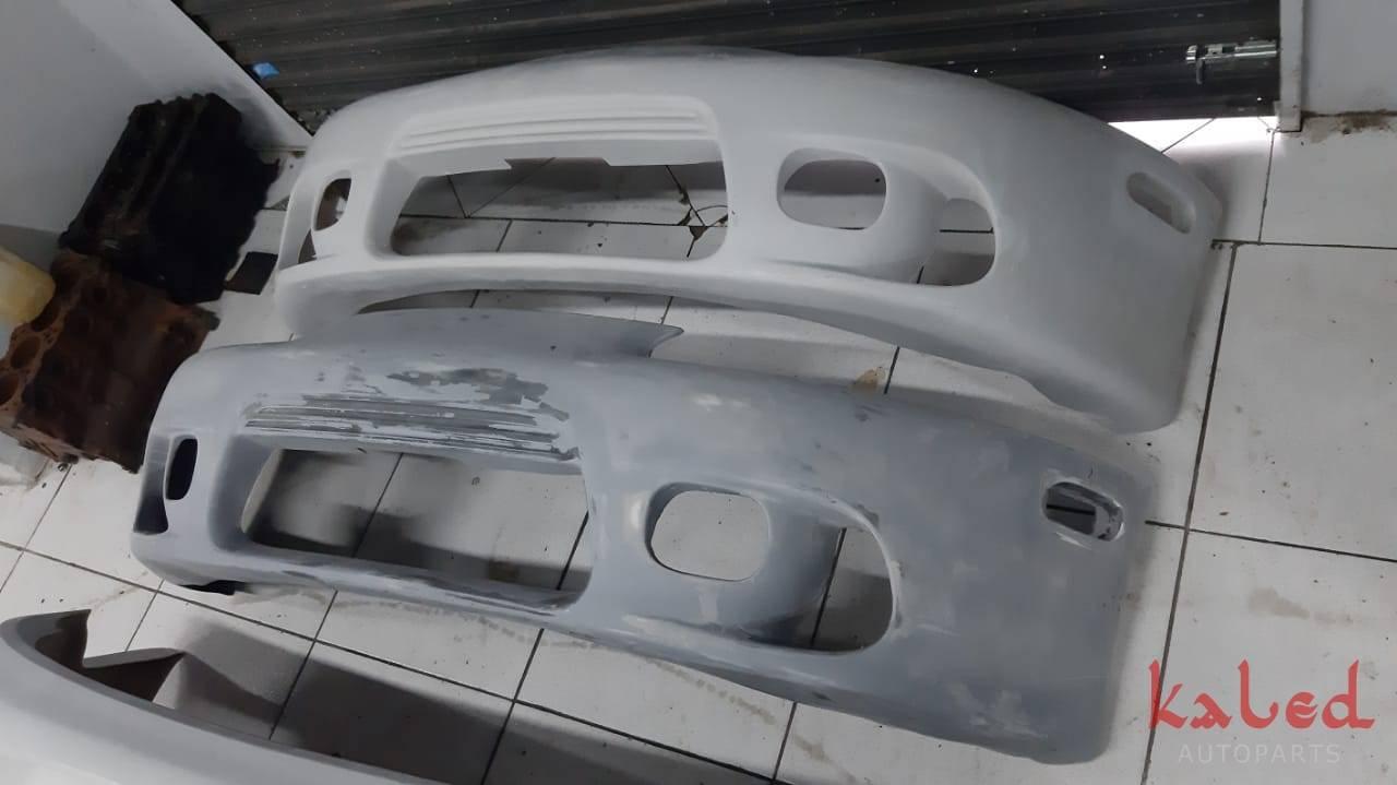 Parachoque dianteiro Mitusbishi Eclipse GST 98 em fibra. - Kaled Auto Parts