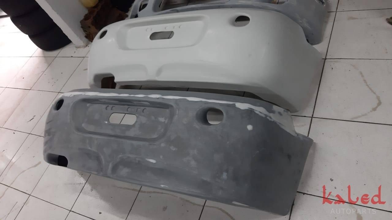 Parachoque traseiro Mitsubishi Eclipse GST GSX 98 em fibra. - Kaled Auto Parts