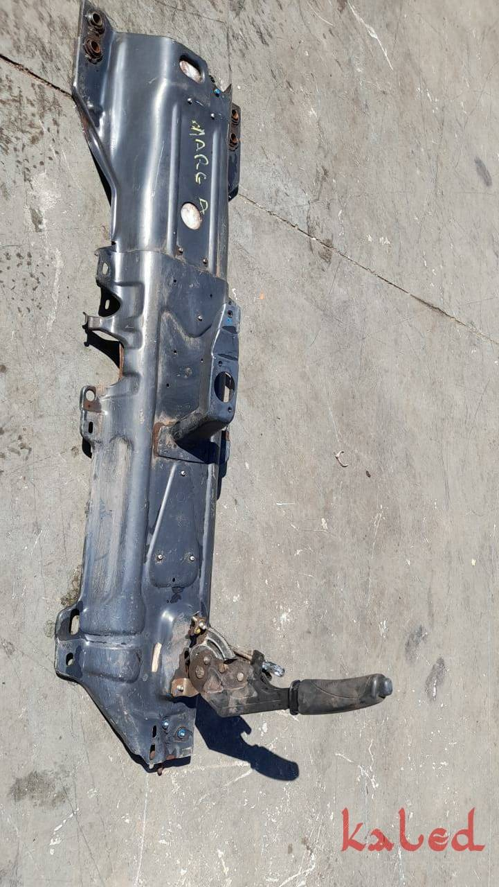 Chapa suporte trambulador/manopla do câmbio e freio de mão, Fiat Marea - Kaled Auto Parts