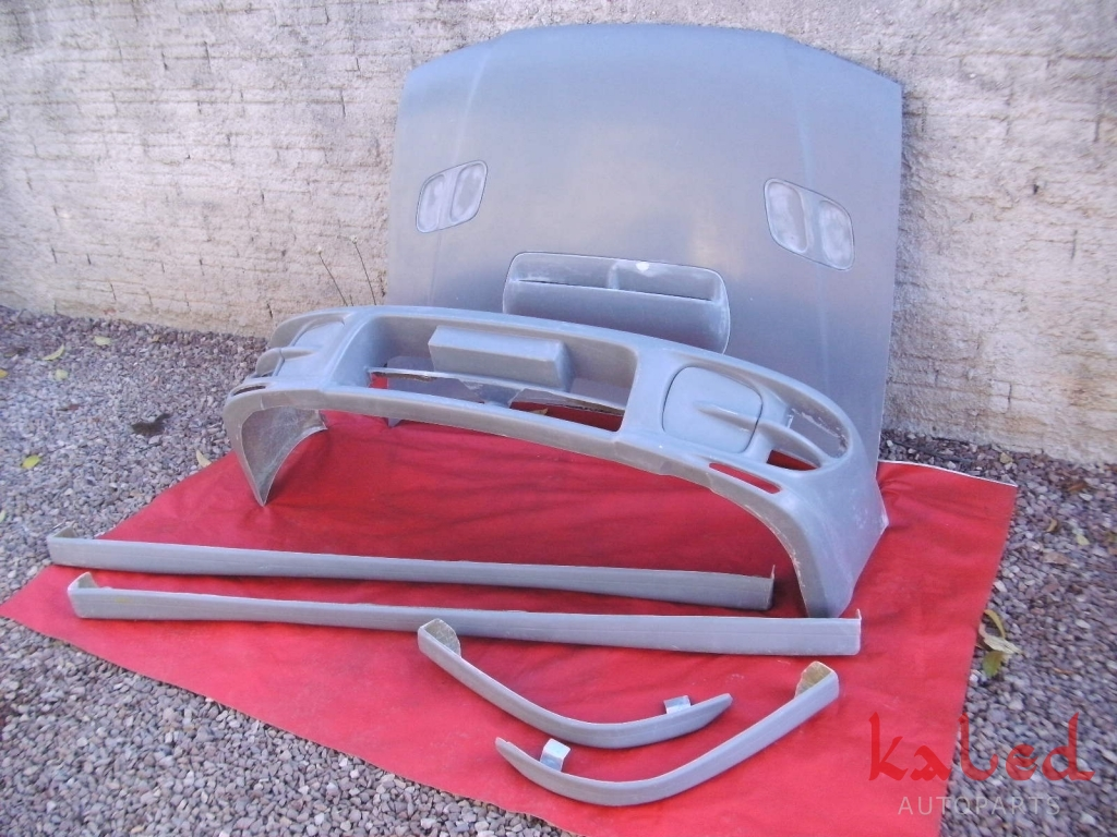 Capo em Fibra réplica Subaru Impreza GT/Sti  - Kaled Auto Parts