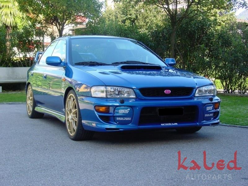 Par de Tampas do parachoque em Fibra p/ Subaru Impreza GT 2000 - Kaled Auto Parts