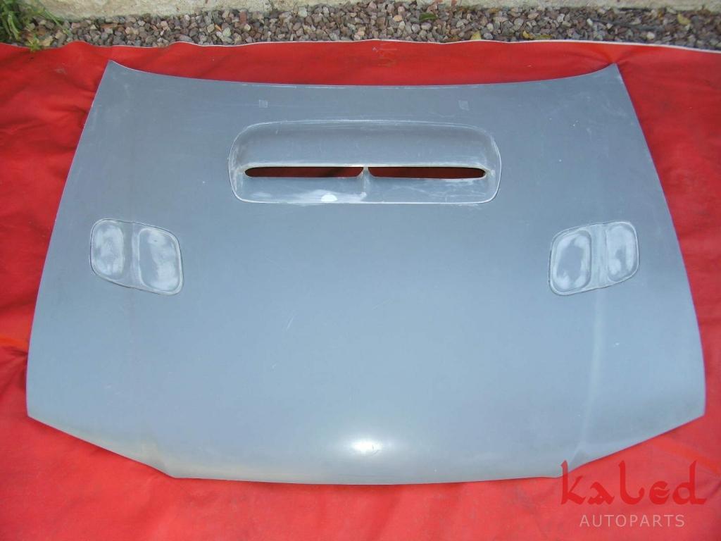 Par de grades do capo hood vents p/ Subaru Impreza 97>2000 - Kaled Auto Parts