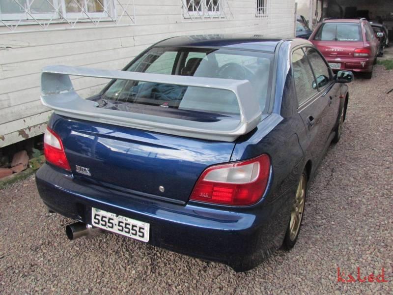 Aerofólio asa Subaru Impreza WRX Sti 2001 a 2007 em fibra - Kaled Auto Parts
