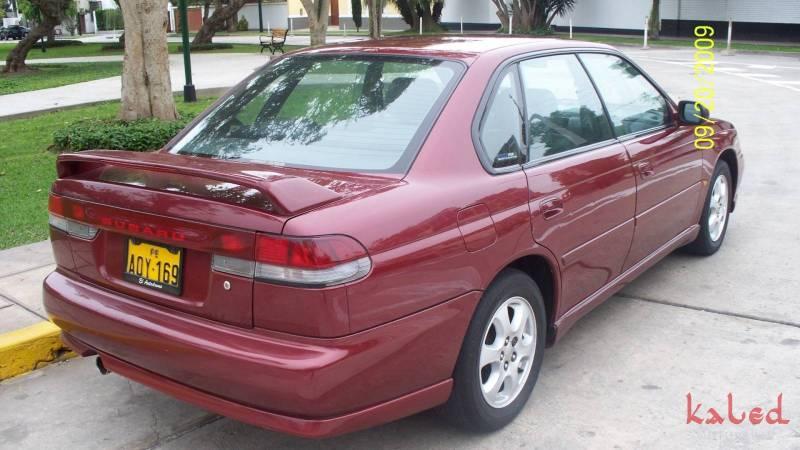 Aerofólio traseiro replica em fibra Subaru Legacy sedan 1995 a 1999 - Kaled Auto Parts
