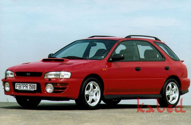 Parachoque dianteiro réplica em fibra do Subaru Impreza GT E STI. - Kaled Auto Parts