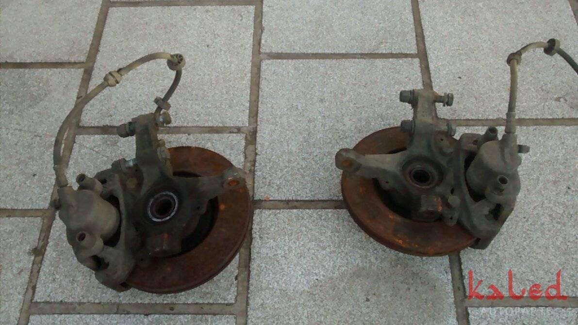 Par de pinças de freio dianteiras do Fiat Palio 1.6 16v 1996 a 2000  - Kaled Auto Parts
