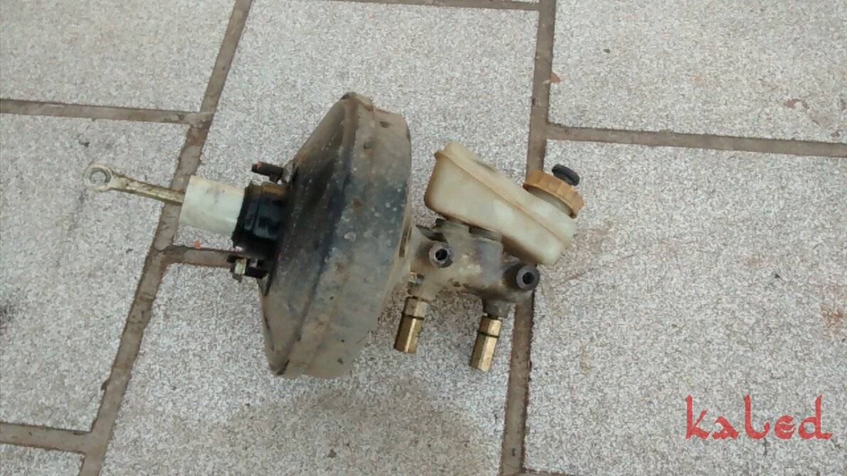 Servo freio com cilindro mestre Fiat Palio 1996 a 2000  - Kaled Auto Parts