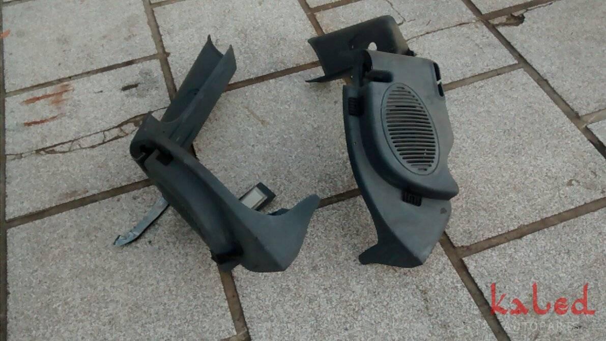Suportes do tampão do Fiat Palio 1996 a 2000 - Kaled Auto Parts