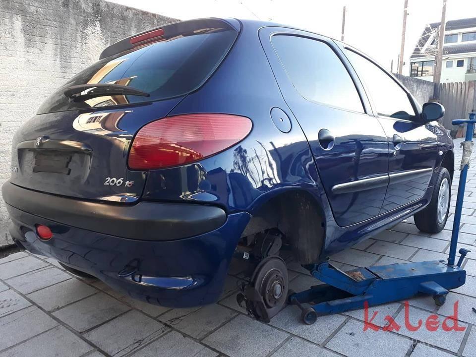 Peugeot 206 1.6 16v sucata em peças - Kaled Auto Parts