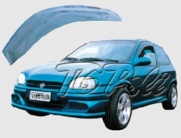 Calha de Chuva Chevrolet Pick-up Corsa 95/03 2 portas - TG Poli