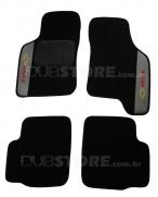 Jogo de Tapetes Automotivo em Carpet para Chevrolet Agile