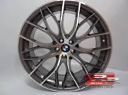 JOGO DE RODA BMW 335I BITURBO REPLICA 20X7,5 DIAMANTADO GRAFITE 5X114 ET 40