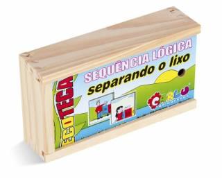 SEQUÊNCIA LÓGICA SEPARANDO O LIXO