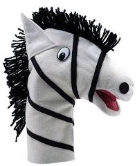 Fantoche de Mão Animais Selvagens - Zebra