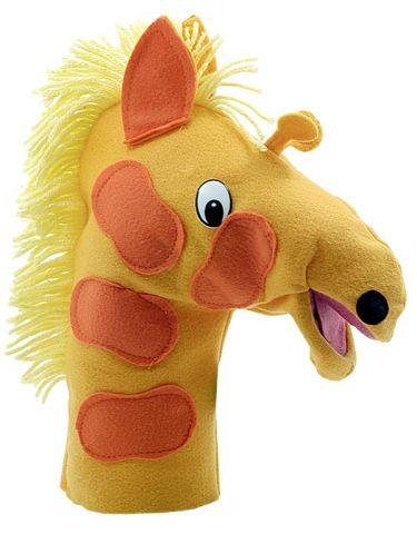 Fantoche de Mão Animais Selvagens - Girafa