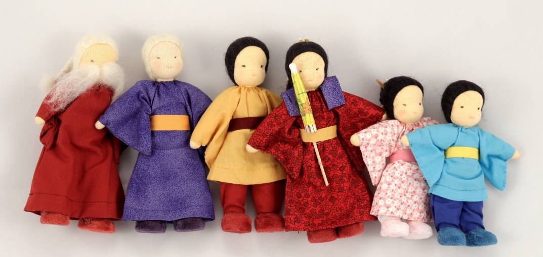 Familia Asiática Completa