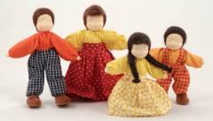 Familia Morena - 4 peças