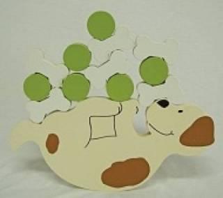 Jogo de Equilíbrio - Cachorro