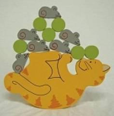 Jogo de Equilíbrio - Gato
