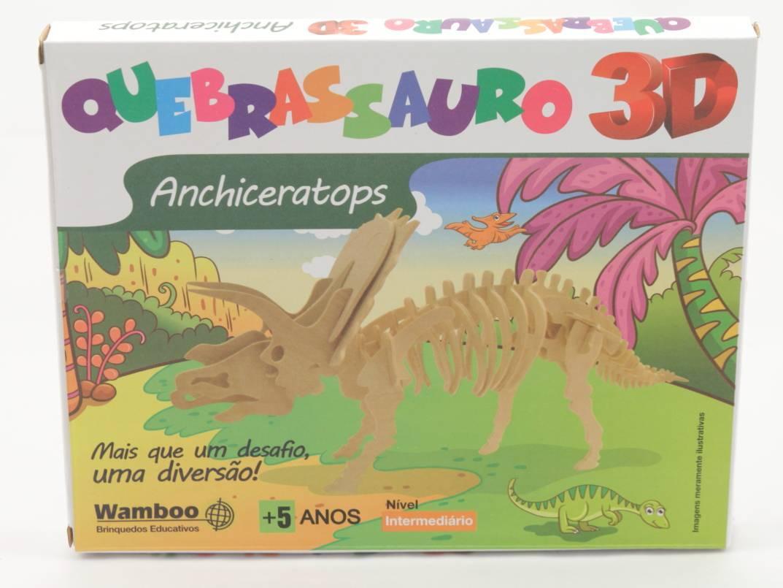 Quebra-Cabeça 3D - Anchiceratops