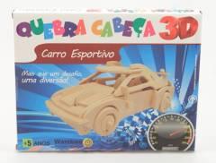 Quebra-Cabeça 3D - Carro Esportivo