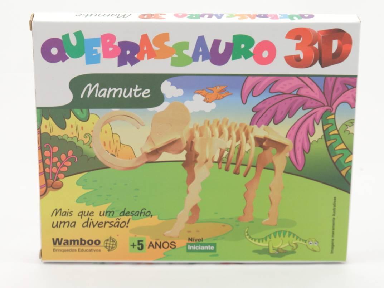 Quebra-Cabeça 3D - Mamute