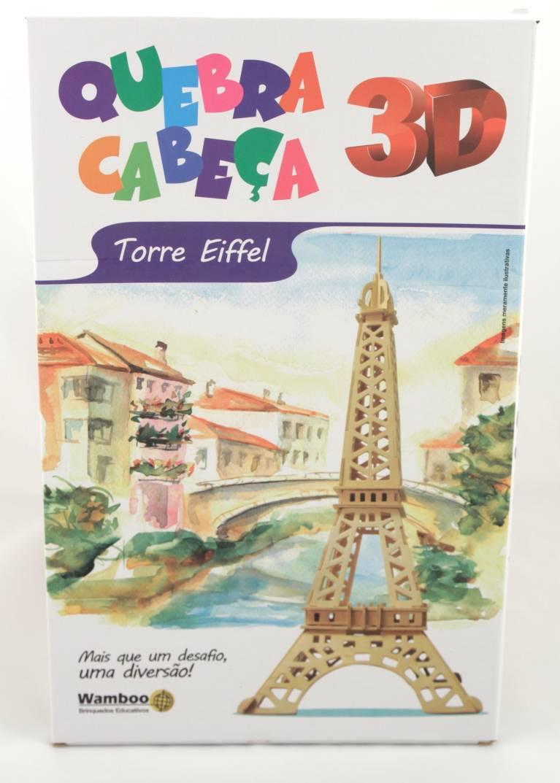 Quebra-Cabeça 3D - Torre Eiffel