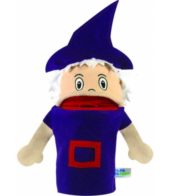 Fantoche de Mão Personagem de História - Bruxa