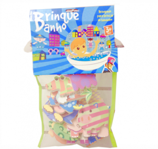 Brinquedo de Banho - Animais