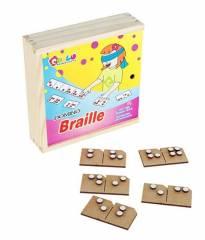 BRAILLE - Jogo de dominó