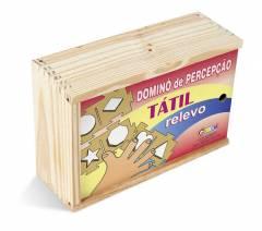 JOGO DE DOMINÓ PERCEPÇÃO TÁTIL - RELEVO