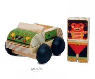 Meu Carro Bichos - Macaco
