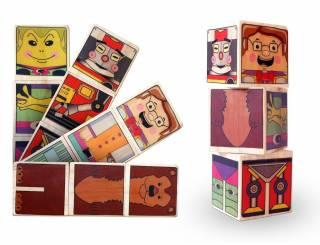 Gira Cubos Personagens