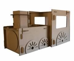 Trem de Papelão