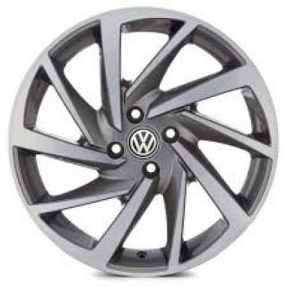 RODA(VW)POLO R93,PRETA DIAMANTADA E GRAFITE DIAMANTADO | Truck Plaza