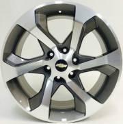 RODA R53 GM TRIAL BLAZER GRAFITE DIAMANTADO E PRATA ESPECIAL