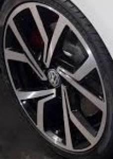 RODA R94 VW GOLF GTI 40 ANOS PRETO E GRAFITE DIAMANTADOS | Truck Plaza