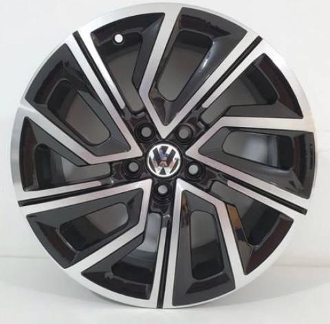 RODA VW T-CROSS S25 ARO 16 PRETO DIAMANTAD,GRAFITE DIAMANTAD