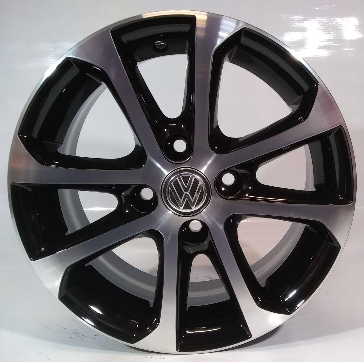 Jogo de Rodas Aro 14 Modelo Volkswagen Gol Power Krmai R10
