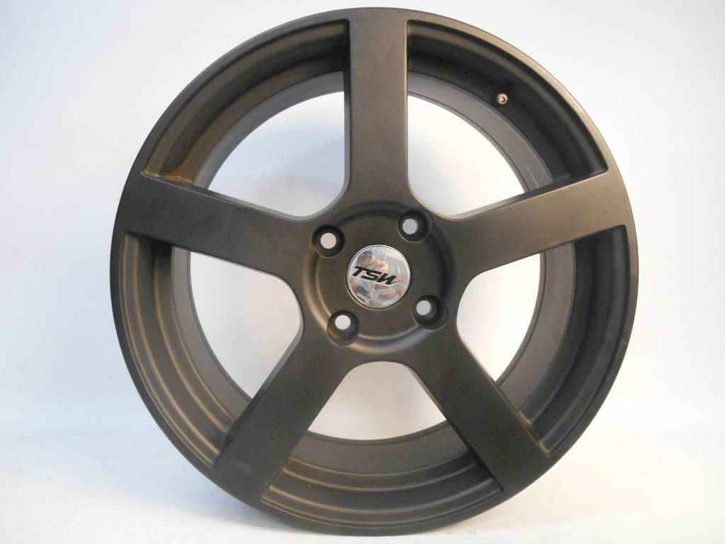RODA TSW PANORAMA aro 17 x 7 4X100 BLACK P/ VW/FIAT,GM...