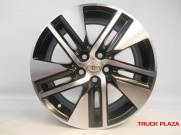 RODA COROLLA ORIGINAL 16 x 6,5 5x100 ET39 BLACK DIAMANTADA