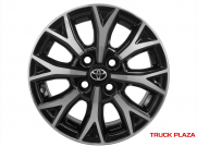 Roda Toyota Etios KR R96 Aro 14 x 6 4x100 et35 Black Diamant