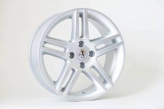 Jogo de 04 Rodas Peugeot 308 KR R41 aro 17 4x108 Prata