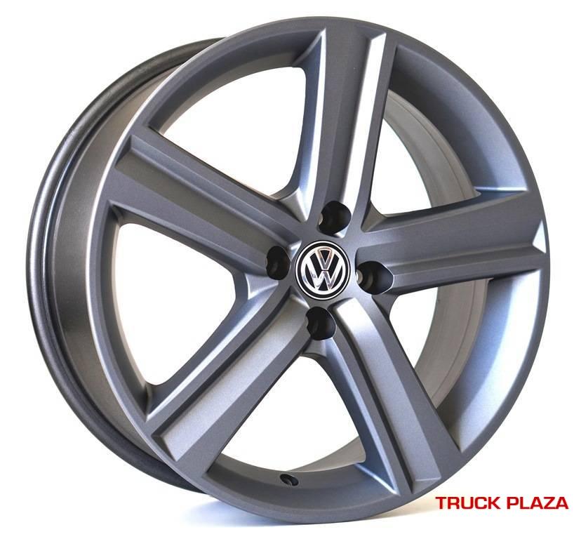 Jogo de 04 Rodas VW Fox Highline KR R65 aro 17 5x100 GF