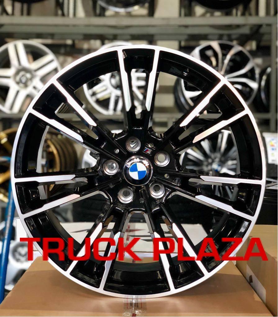 Jogo de 04 Rodas BMW M5 2018 aro 20 5x120 BD