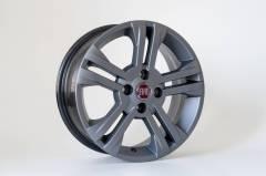 Jogo de 04 Rodas Fiat New Palio aro 15 4x98 KR R17 Grafite