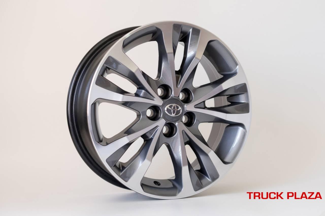 Jogo de 04 Rodas Toyota Corolla 2018 kR R89 16 5X100 GD Sem